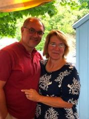 """Greg & Susan (""""Lucky Me"""")"""