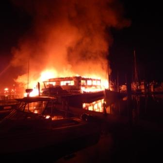 Fire at Surf Rider in Poquoson