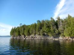 Rocks on north shore SI