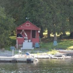 Boat house on SI