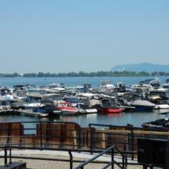 Chambly marina from L1