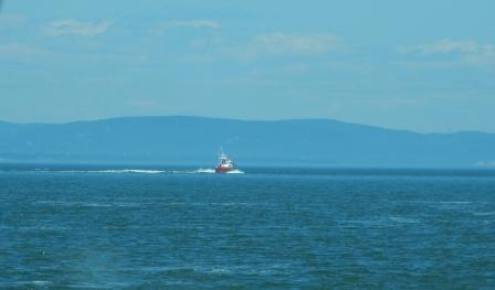 Coast Guard out of Saint-Siméon