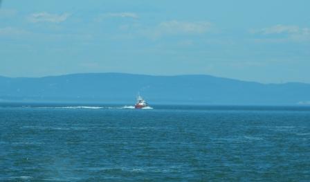 Coast Guard out of Saint-Siméon