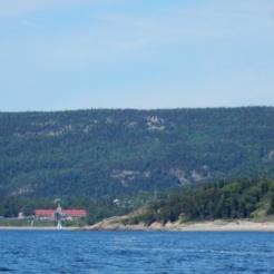 Entering Tadoussac