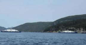 Ferry Crossing on the Saguenay