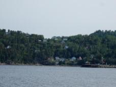 Club De Yacht De Sacre Coeur on the Saguenay River