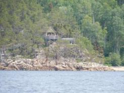 Beluga lookout at Baie St Margarite