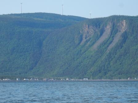 Cliffs at L'Anse-Pleureuse