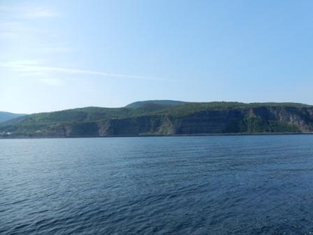Cliffs near Gros-Morne