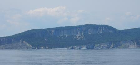 Cliffs at Cap-Bon-Ami