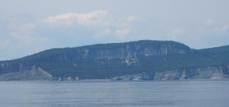 Cliffs at Cap-Bon-Ami