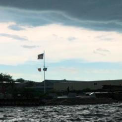 Stormy evening at CBHM