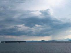 Rain on Lake C
