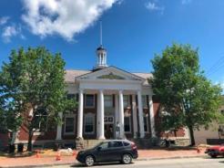 Stowe City Hall - muni offices & opera house