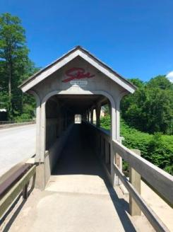 Covered Ped Bridge