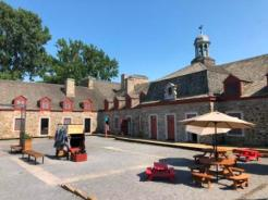 Inside Fort Chambly