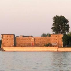 Fort Chambly from marina