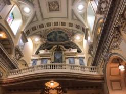 pipe organ at Notre-Dame de Québec Basilica-Cathedral