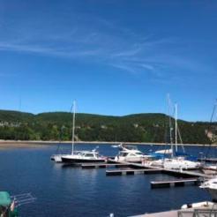 IO at Tadoussac marina