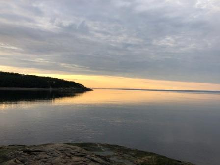 Morning over the St. Lawrence