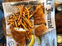 Fish & Chips at La Fabrique