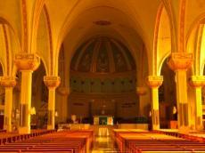 Inside Eglise St. Anne Des Monts