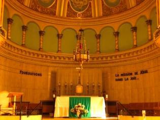 Alter at Eglise St. Anne Des Monts