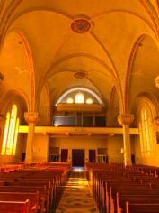 Back of Eglise St. Anne Des Monts