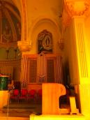 Pipe organ at Eglise St. Anne Des Monts
