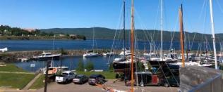 Marina and Gaspe Bay