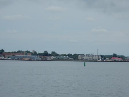 Approaching Summerside