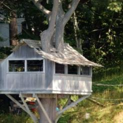 Treehouse at house near RNSYS