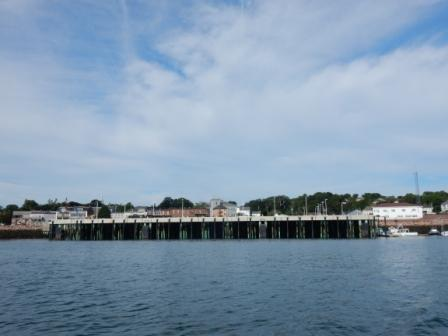 Eastport Wharf from water