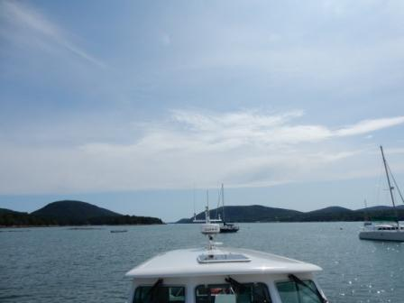 IO at Abel Mooring Field - Somes Sound