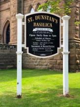St Dunstan's Signage