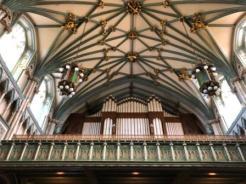 Inside St Dunstan's
