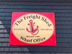 The Freight Shed & Marina Office Signage