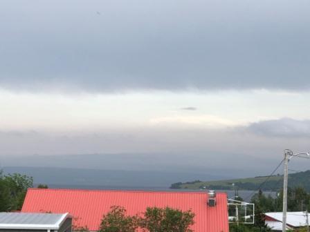 Stormy skies brewing