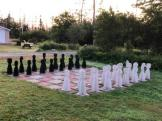 Life-size chess