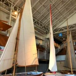 Sailboat Exhibit at the MMof A
