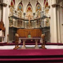 Inside St. Mary's Basilica