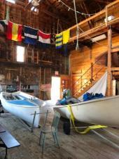 Inside Shelburne Sailing Academy