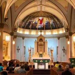 Inside St Ambrose