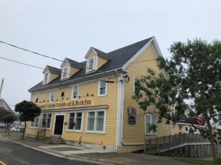 Rudders Restaurant - street view