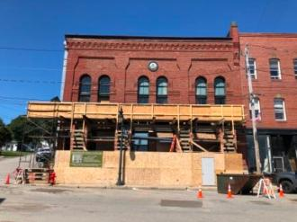 Renovating downtown buidling