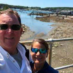 Selfie near Beals Lobster Pound - SW Harbor