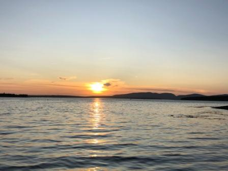 Sunset from Little Cranberry Island