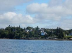 Houses on East Penobscot Bay