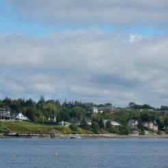 Approaching Castine