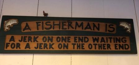 Sign at Anglers